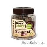 FITMIN SNAX DOG LIVER NUGGETS - 200 G