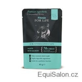 FFL CAT POUCH STERILIZED SALMON 85G