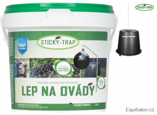 Sticky Trap Set - Lep 1,5 l + 1x kyblík